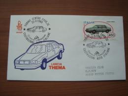 1985 FDC Venetia - LANCIA THEMA - 6. 1946-.. Republic