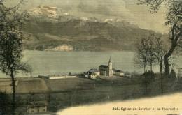Haute Savoie Eglise De SEVRIER Et La Tournette Colorisé   ...G - Annecy