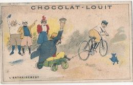 Chromo Chocolat Louit Sports L'entrainement TB (tache Dos) - Louit