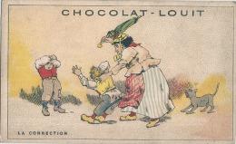Chromo Chocolat Louit  La Surpprise - Louit