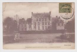 60 - FRESNEAUX MONTCHEVREUIL LA FACADE DU CHÂTEAU - ÉDITION FIMBEL - 1917 - 2 Scans - - Montataire