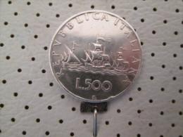 ITALIA Lire 500 1958  10.97 G - 1946-… : Republic