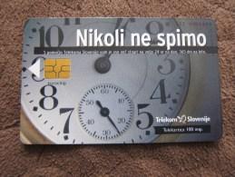 Chip Phonecard,Watch, Used - Slovénie
