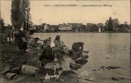 22 - CHATELAUDREN - Lavandières Sur L´Etang - 1253 - Châtelaudren