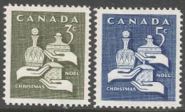 Canada. 1965 Christmas. MNH Complete Set. SG 568-569 - 1952-.... Reign Of Elizabeth II