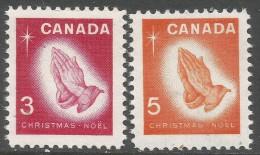 Canada. 1966 Christmas. MNH Complete Set. SG 576-577 - 1952-.... Reign Of Elizabeth II