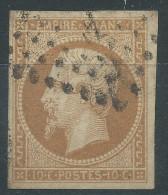 Lot N°27549   N°13B, Oblit Losange A Déchiffrer, Belles Marges - 1853-1860 Napoleon III