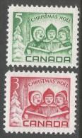 Canada. 1967 Christmas. MNH Complete Set. SG 618-619 - 1952-.... Reign Of Elizabeth II