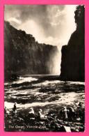 Carte Photo - The Gorge - Victoria Falls - Animée - 1937 - Copyright K 895 - Zimbabwe