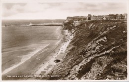 CPSM ROYAUME-UNI - The Spa And Sands, West Cliff, Whitby - Whitby