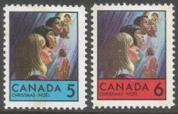 Canada. 1969 Christmas. MNH Complete Set. SG 644-645 - 1952-.... Reign Of Elizabeth II