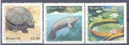 1979. Brazil, Mich.1709-11, National Parks, 3v, Mint/** - Brésil