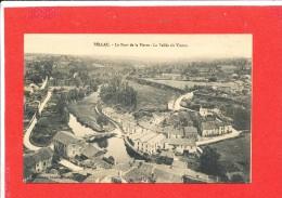 87 BELLAC Cpa Vue Aérienne      Edit Coutesque - Bellac