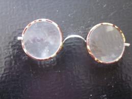 Vintage Ancienne Paire De Lunette Binocles Sans Support Oreille >> Voir - Gafas/Lentes
