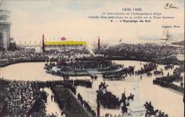 75 EME ANNIV. INDEPENDANCE BELGE 21/7/ 1905  EQUIPAGE DU ROI - Manifestations