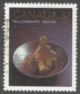 Canada. 1983 50th Anniv Of Yellowknife. 32c Used SG 1116 - 1952-.... Reign Of Elizabeth II