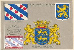 D19245 CARTE MAXIMUM CARD 2010 NETHERLANDS - FLAG OF FRIESLAND CP ORIGINAL - Maximum Cards