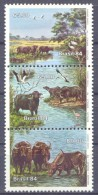 1984. Brazil, Mich.2054-56, Animals, 3v, Mint/** - Brésil