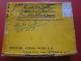 MONACO Mont�-Carlo 1957 Vintage Bobine de film Amateur  sc�nes localis�e Kodak 8 mm cin�matographie envoi postal EMA