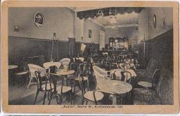 "AK RESTAURANTS "" RUDILO "" BERLIN W.,KURFÜRSTENSTR. 149.ALTE POSTKARTE - Restaurants"