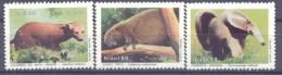1988. Brazil, Mich.2259-61, Animals, 3v, Mint/** - Brésil
