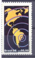 1988. Brazil, Mich.2255, American Telecommunication, 1v, Mint/** - Brésil