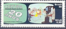 1989. Brazil, Mich.2306, Communication, 1v, Mint/** - Brésil