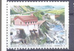 1989. Brazil, Mich.2317, 100y Of Hidroelectrostation,  1v, Mint/** - Brésil