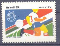1989. Brazil, Mich.2335, Football Club,  1v, Mint/** - Brésil