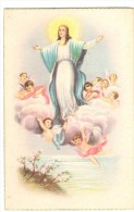 POSTAL   LA VIRGEN CON ANGELES (SERIE SACRO ) - Sin Clasificación