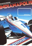 Indianapolis 500 Motor Speedway  -  Carte Promo - IndyCar