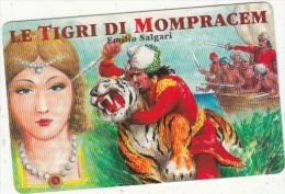 SAN MARINO - Le Tigri Di Mompracem/Emilio Salgari, Grandi Romanzi(MC), Tirage 16000, 09/99, Mint - San Marino