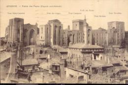 Avignon Palais Des Papes  1923 - Avignon (Palais & Pont)