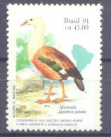 1991. Brazil, Mich.2414,Conference, Bird, 1v, Mint/** - Brésil