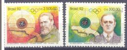 1992. Brazil, Mich.2452-53, Olympic Winners Barcelona´1992, 2v, Mint/** - Brésil