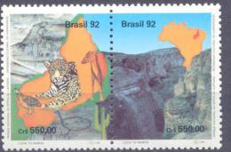 1992. Brazil, Mich.2489-90, National Park, 2v, Mint/** - Brésil