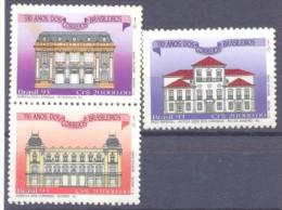 1993. Brazil, Mich.2538,2540-41, Architecture, 3v, Mint/** - Brésil