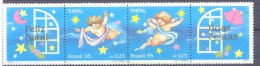 1995. Brazil, Mich.2683-84, Christmas, 2v + 2 Labels,  Mint/** - Brésil