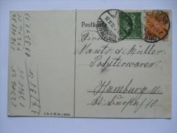 GERMANY 1922 CARD ESENS TO HAMBURG - Allemagne