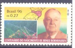 1996. Brazil, Mich.2689, Famous Person, 1v,  Mint/** - Brésil