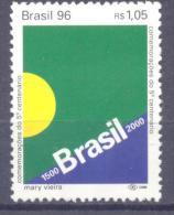 1996. Brazil, Mich.2693, 500y Of Brazil, 1v,  Mint/** - Brésil