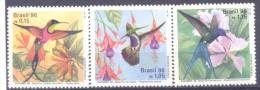1996. Brazil, Mich.2700-02, Birds, 4v,  Mint/** - Brésil