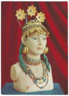 Iraq, Pu-Abi Adornata Dai Gioielli Ritrovati Nella Sua Tomba Nella Necropoli Di Ur (antica Babilonia) 2500 A.c. - Iraq