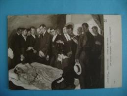 CP SALON DE 1913 - VASQUEZ DIAZ - LA MORT DU TOREADOR - Evénements