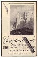 Original Werbung - 1927 - A.W. FABER , CASTELL , Bleistifte !!! - Schreibgerät
