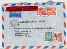 Germany Luftpost EILBOTE EXPRES 1955 - [7] Federal Republic