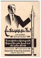 Original Werbung - 1927 - A.W. FABER , CASTELL , Bleistifte , Tintenstifte , Kopierstifte !!! - Schreibgerät