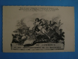 CP COMMISSION DU COMMERCE ET DES APPROVISIONNEMENTS DE LA REPUBLIQUE - Commercio
