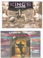 1994 DISCOTECA  KING' S, PIANELLO VALLESINA  (AN):   THE LAST ONE IS MY PASSION     - RIF. 3779 - Musica E Musicisti