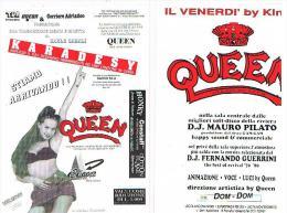 1994 DISCOTECA  QUEEN, PIANELLO VALLESINA  (AN):  KARADESY    - RIF. 3782 - Musica E Musicisti
